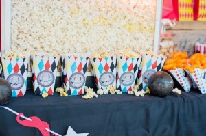 Vintage Circus Strongman Birthday Party via Kara's Party Ideas | Kara'sPartyIdeas.com #BigTop #Carnival #2ndBirthday #PartyIdeas #Supplies (29)