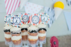 Vintage Circus Strongman Birthday Party via Kara's Party Ideas | Kara'sPartyIdeas.com #BigTop #Carnival #2ndBirthday #PartyIdeas #Supplies (24)