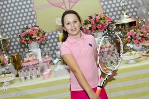 Tennis Birthday Party via Kara's Party Ideas Kara'sPartyIdeas.com #Sports #Tennis #Ideas #Supplies (3)