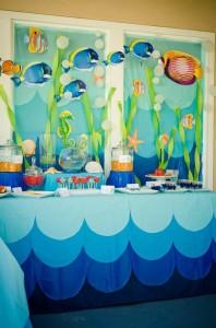 Under the Sea Water Party via Kara's Party Ideas Kara'sPartyIdeas.com #SeaCreatures #PartyIdeas #Supplies #Ocean #WaterFight #SummerPartyIdea (13)