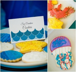 Under the Sea Water Party via Kara's Party Ideas Kara'sPartyIdeas.com #SeaCreatures #PartyIdeas #Supplies #Ocean #WaterFight #SummerPartyIdea (7)
