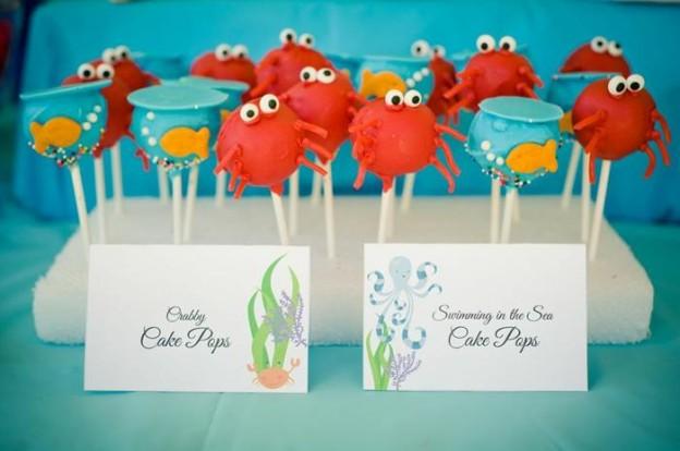 Under the Sea Water Party via Kara's Party Ideas Kara'sPartyIdeas.com #SeaCreatures #PartyIdeas #Supplies #Ocean #WaterFight #SummerPartyIdea (23)