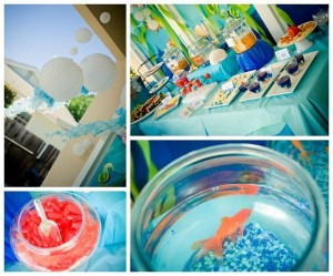 Under the Sea Water Party Full of CUTE IDEAS via Kara's Party Ideas Kara'sPartyIdeas.com #SeaCreatures #PartyIdeas #Supplies #Ocean #WaterFight #SummerPartyIdea (20)