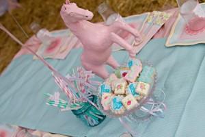 Vintage Pony Soiree via Kara's Party Ideas   Kara'sPartyIdeas.com #Vintage #ShabbyChic #PonyParty #Ideas #Supplies (58)