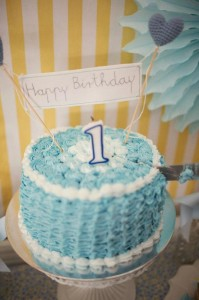 Vintage Yellow and Blue Birthday Party via Kara's Party Ideas Kara'sPartyIdeas.com #VintagePartyIdeas #Supplies #Boy #1stBirthdayParty (5)