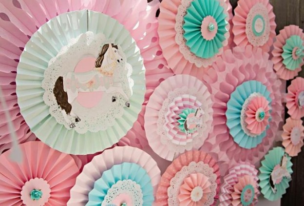 Vintage Pony Soiree via Kara's Party Ideas | Kara'sPartyIdeas.com #Vintage #ShabbyChic #PonyParty #Ideas #Supplies (37)