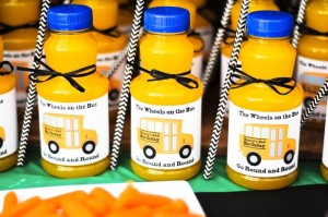 Wheels on the Bus Party with Lots of GREAT IDEAS via Kara's Party Ideas Kara'sPartyIdeas.com #BackToSchool #Teacher #SchoolBus #Party #Ideas #Supplies (14)