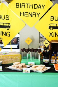 Wheels on the Bus Party with Lots of GREAT IDEAS via Kara's Party Ideas Kara'sPartyIdeas.com #BackToSchool #Teacher #SchoolBus #Party #Ideas #Supplies (11)