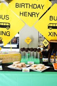 Wheels on the Bus Party with Lots of GREAT IDEAS via Kara's Party Ideas Kara'sPartyIdeas.com #BackToSchool #Teacher #SchoolBus #Party #Ideas #Supplies (11)