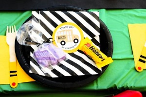 Wheels on the Bus Party with Lots of GREAT IDEAS via Kara's Party Ideas Kara'sPartyIdeas.com #BackToSchool #Teacher #SchoolBus #Party #Ideas #Supplies (6)