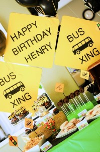 Wheels on the Bus Party with Lots of GREAT IDEAS via Kara's Party Ideas Kara'sPartyIdeas.com #BackToSchool #Teacher #SchoolBus #Party #Ideas #Supplies (5)