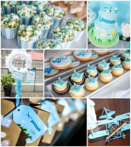 Airplane Themed Birthday Party Full of Cute Ideas via Kara's Party Ideas | KarasPartyIdeas.com #Airplanes #Party #Ideas #Supplies (1)