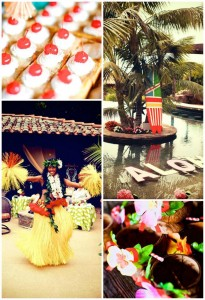 Bridal Shower Luau Party SO MANY IDEAS via KarasPartyIdeas.com #BridalShower #Hawaii #Luau #PartyIdea #PartyDecorations (1)