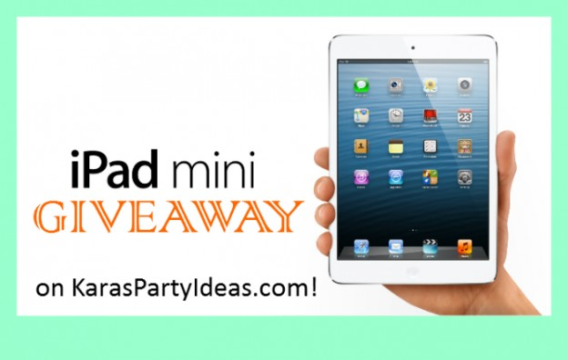 iPad Mini Giveaway from Online Labels via www.KarasPartyIdeas.com #PartySupplies #OnlineLabels #Printables #Giveaway #iPad (16)