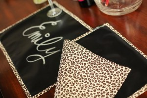 """Scribble Linens"" Reversible Chalkboard Tablecloths via Kara's Party Ideas #ScribbleLinens #Chalkboard #ChalkboardTable #Tablecloth #RemovableChalkboard (20)"