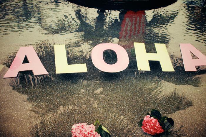 Aloha Surf Boards Hawaiian Baby Shower Guestbook Poster