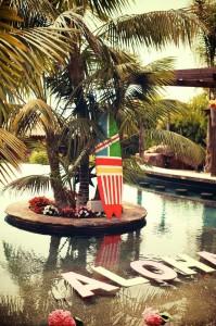 Bridal Shower Luau Party via KarasPartyIdeas.com #BridalShower #Hawaii #Luau #PartyIdea #PartyDecorations (1)
