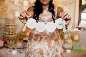 Shabby Chic Baby Shower via KarasPartyIdeas.com #BabyShower #ShabbyChic #PartyIdeas #ShowerIdea (12)