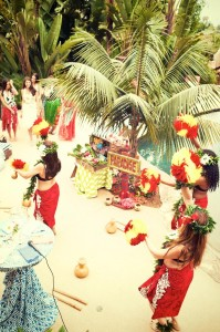 Bridal Shower Luau Party via KarasPartyIdeas.com #BridalShower #Hawaii #Luau #PartyIdea #PartyDecorations (16)