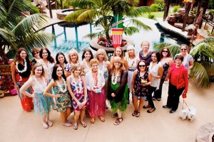 Bridal Shower Luau Party via KarasPartyIdeas.com #BridalShower #Hawaii #Luau #PartyIdea #PartyDecorations (4)