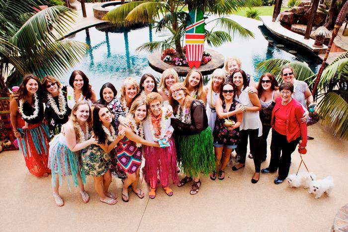 Karas Party Ideas Bridal Shower Luau Party Via Karas Party Ideas BridalShower Hawaiian Luau