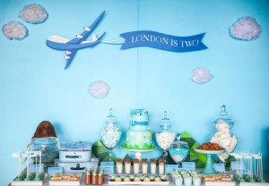 Airplane Themed Birthday Party Full of Cute Ideas via Kara's Party Ideas | KarasPartyIdeas.com #Airplanes #Party #Ideas #Supplies (22)