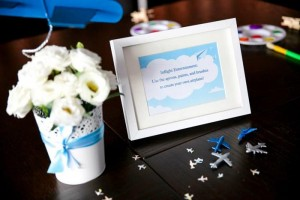 Airplane Themed Birthday Party Full of Cute Ideas via Kara's Party Ideas | KarasPartyIdeas.com #Airplanes #Party #Ideas #Supplies (18)