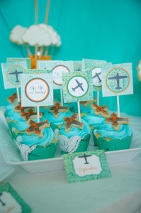 Airplane Party with Lots of Cute Ideas via Kara's Party Ideas | Kara'sPartyIdeas.com #Airplane #Aviator #Flying #Party #Ideas #Supplies (4)