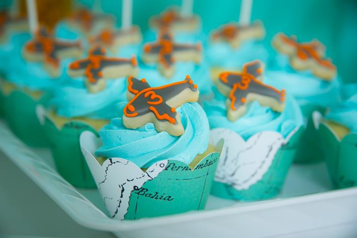 Kara S Party Ideas Airplane Themed Birthday Party Planning