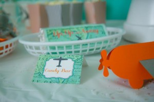 Airplane Party with Lots of Cute Ideas via Kara's Party Ideas | Kara'sPartyIdeas.com #Airplane #Aviator #Flying #Party #Ideas #Supplies (24)