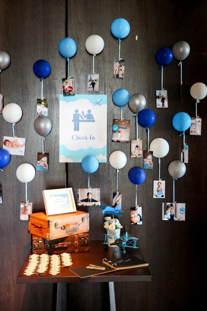Party Ideas Airplane Themed Birthday Party with Lots of Cute Ideas ...
