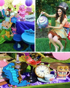Alice In Wonderland 15th Un-birthday Party Full of Cute Ideas via Kara's Party Ideas | KarasPartyIdeas.com #AliceInWonderland #Unbirthday #Runway #Party #Ideas #Supplies (1)