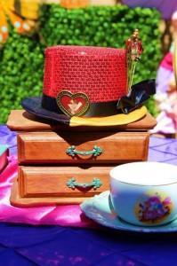 Alice In Wonderland 15th Un-birthday Party Full of Cute Ideas via Kara's Party Ideas   KarasPartyIdeas.com #AliceInWonderland #Unbirthday #Runway #Party #Ideas #Supplies (10)