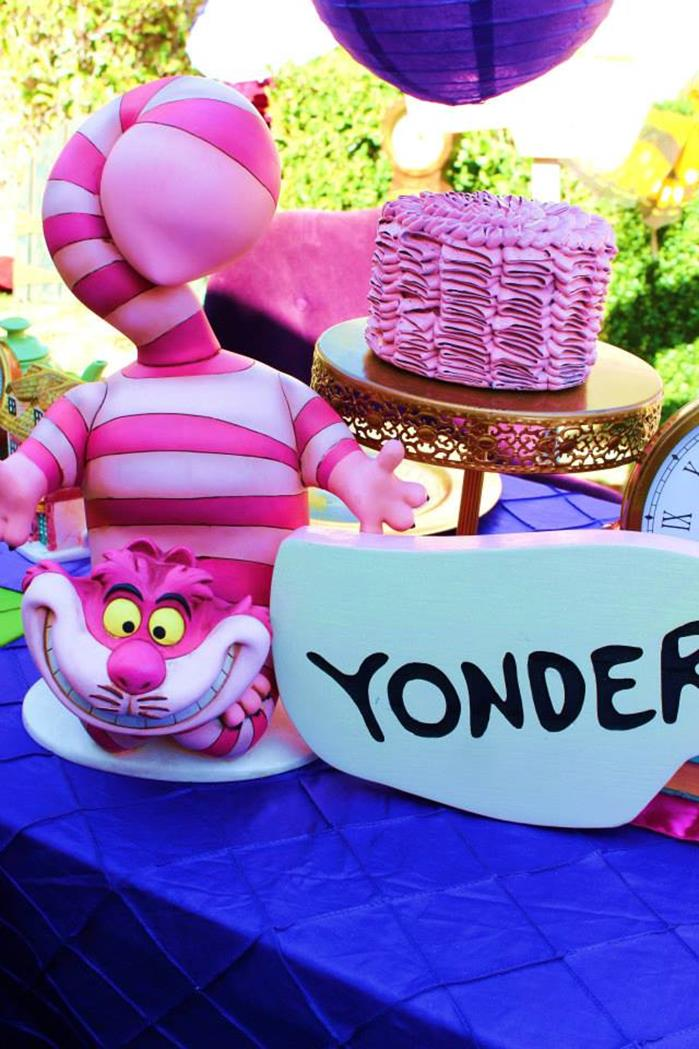 Kara S Party Ideas Alice In Wonderland 15th Un Birthday