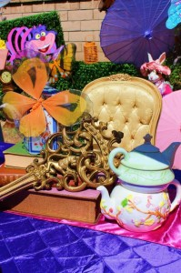 Alice In Wonderland 15th Un-birthday Party Full of Cute Ideas via Kara's Party Ideas   KarasPartyIdeas.com #AliceInWonderland #Unbirthday #Runway #Party #Ideas #Supplies (7)