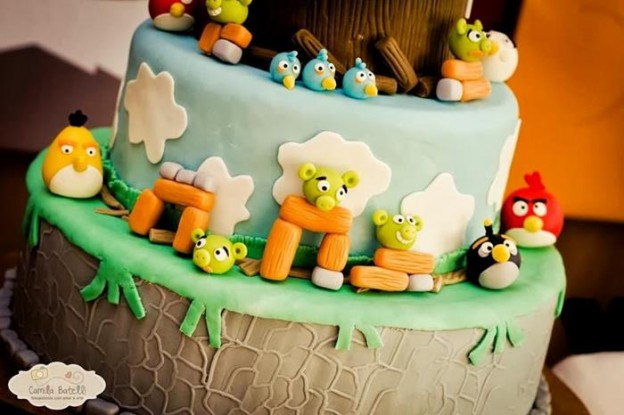 Angry Birds 3rd Birthday Party Full of Cute Ideas via Kara's Party Ideas | KarasPartyIdeas.com #AngryBirds #Party #Ideas #Supplies (23)