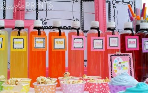 Girly Art Party With So Many Cute Ideas via Kara's Party Ideas | KarasPartyIdeas.com #Artist #Painting #Bright #Party #Ideas #Supplies (8)