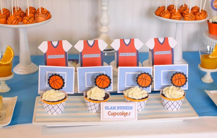 Basketball Themed 1st Birthday Party With Really Cool Ideas Via Karas