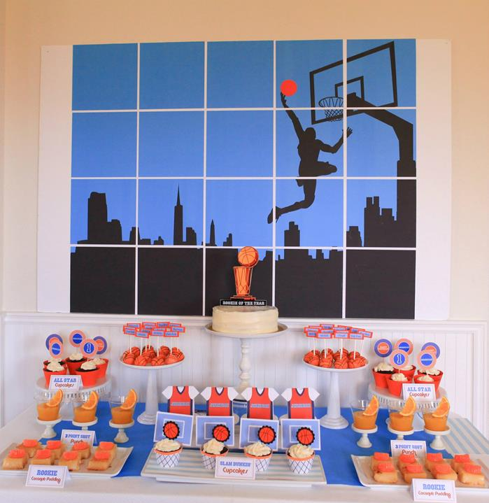 25 Best Ideas About Basketball Decorations On Pinterest: Kara's Party Ideas Basketball Themed 1st Birthday Party