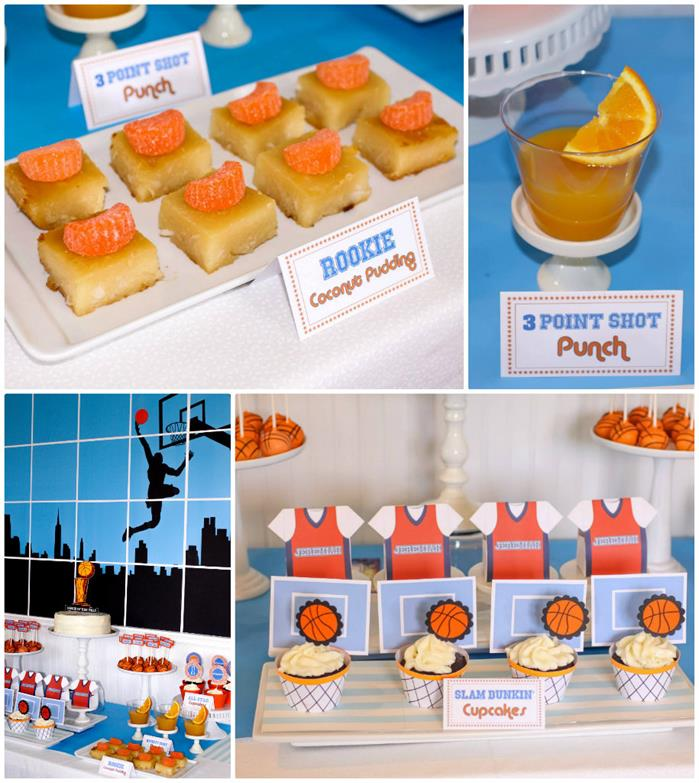 Basketball Themed 1st Birthday Party With Really Cool Ideas Via Kara S