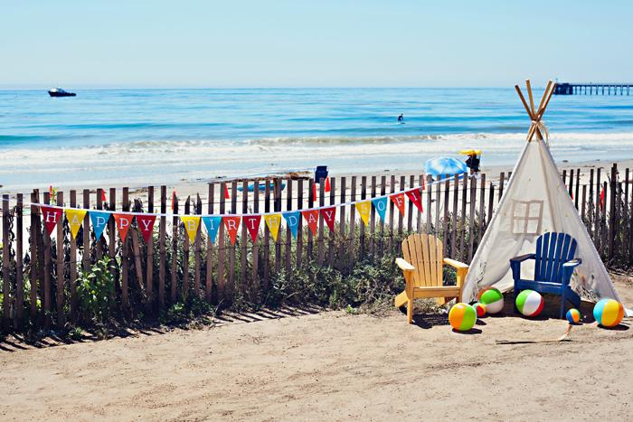 Kara S Party Ideas 187 End Of Summer Vintage Beach Party