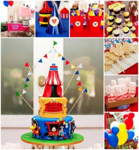 Mickey Mouse Under the Big Top Birthday Party with TONS of CUTE Ideas via Kara's Party Ideas Kara'sPartyIdeas.com #MickeyMouse #Circus #Carnival #BigTop #Party #Ideas #Supplies (1)