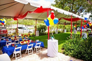 Mickey Mouse Under the Big Top Birthday Party with TONS of CUTE Ideas via Kara's Party Ideas Kara'sPartyIdeas.com #MickeyMouse #Circus #Carnival #BigTop #Party #Ideas #Supplies (82)