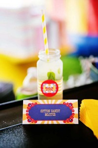 Mickey Mouse Under the Big Top Birthday Party with TONS of CUTE Ideas via Kara's Party Ideas Kara'sPartyIdeas.com #MickeyMouse #Circus #Carnival #BigTop #Party #Ideas #Supplies (6)