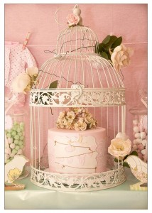 Vintage Birdie Baby Shower with Such ADORABLE IDEAS via Kara's Party Ideas | KarasPartyIdeas.com #Bird #Christening #Blessing #Party #Ideas #Supplies (24)