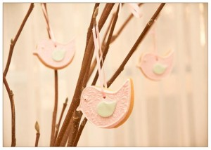 Vintage Birdie Baby Shower with Such ADORABLE IDEAS via Kara's Party Ideas | KarasPartyIdeas.com #Bird #Christening #Blessing #Party #Ideas #Supplies (8)