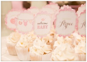 Vintage Birdie Baby Shower with Such ADORABLE IDEAS via Kara's Party Ideas | KarasPartyIdeas.com #Bird #Christening #Blessing #Party #Ideas #Supplies (31)