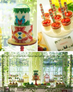 Birds of Paradise Themed 21st Birthday Party with Such Awesome Ideas via Kara's Party Ideas | KarasPartyIdeas.com #Woodland #Garden #Party #Ideas #Supplies (1)