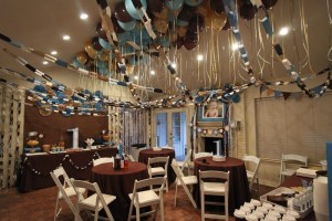 Blue and Brown Boy's 1st Birthday Party with Lots of Cute Ideas via Kara's Party Ideas KarasPartyIdeas.com #Boy #Party #Ideas #Supplies (11)