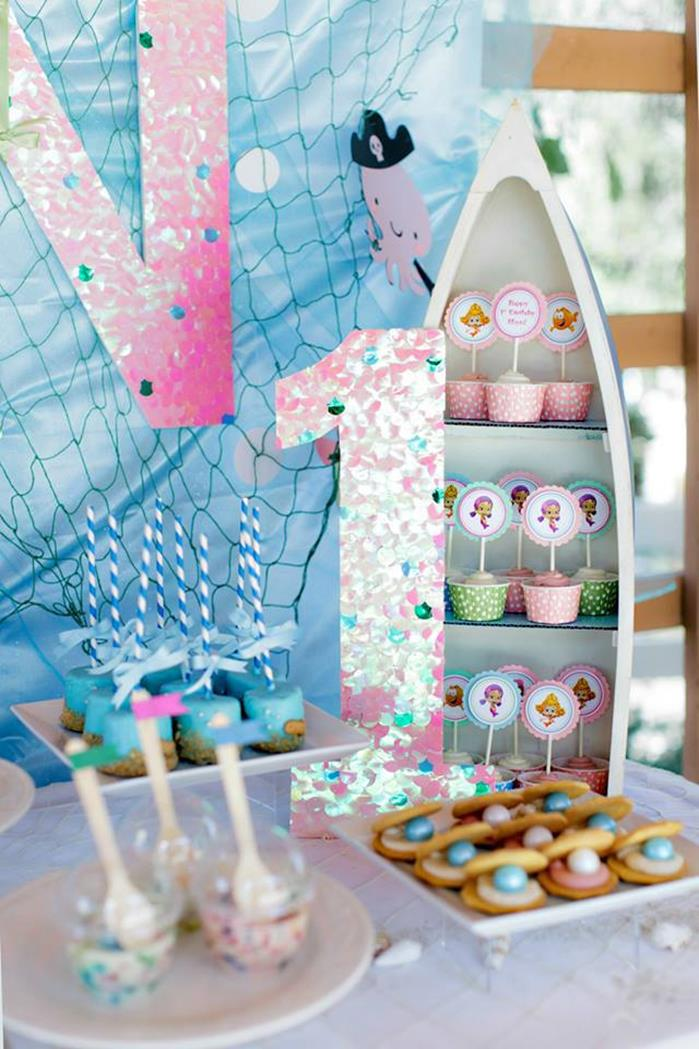 Kara 39 s party ideas bubble guppies under the sea party with lots of cute ideas via kara 39 s party - Bubble guppies party favors ideas ...